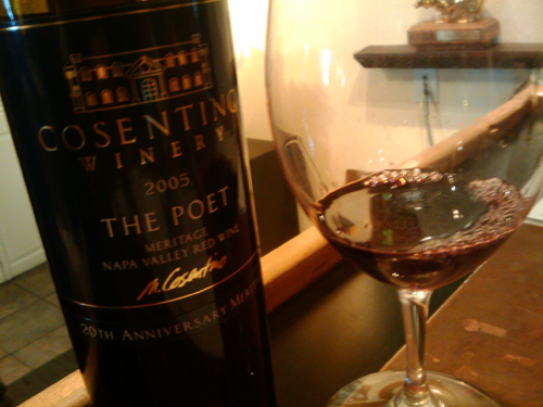 The Poet, 2005 Meritage, Cosentino Winery